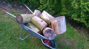 Den nostalgiske tømmerstokken