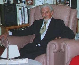 Andreas Sævik, på 80-årsdagen