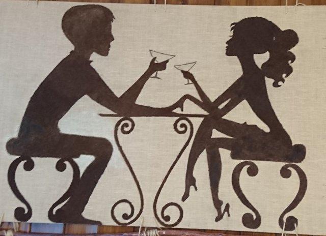 Valentin med sin Valentine